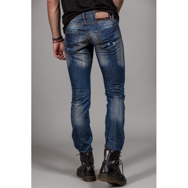 Blugi albastri Kingz Jeans 1257