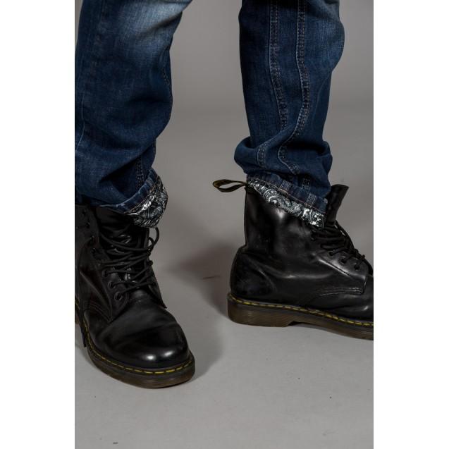 Blugi albastri Kingz Jeans 1261
