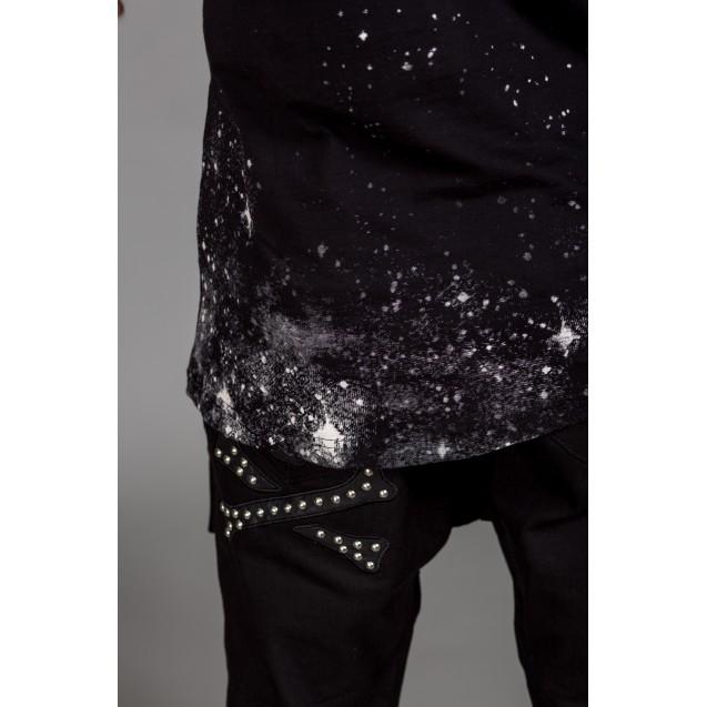 Maiou negru Kingz Jeans 130-01