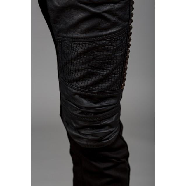 Blugi negri Kingz Jeans 1356-1