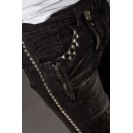 Blugi negri Kingz Jeans 1368-1