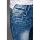 Blugi albastri Kingz Jeans 1372
