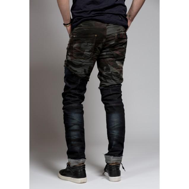 Blugi army style Kingz Jeans 1500