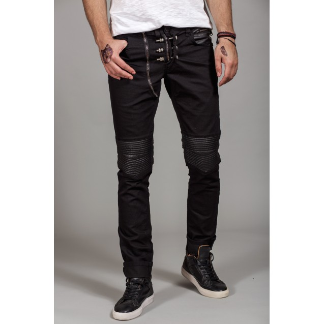 Blugi negri Kingz Jeans 1521-1