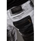 Blugi albi Kingz Jeans 1521-2
