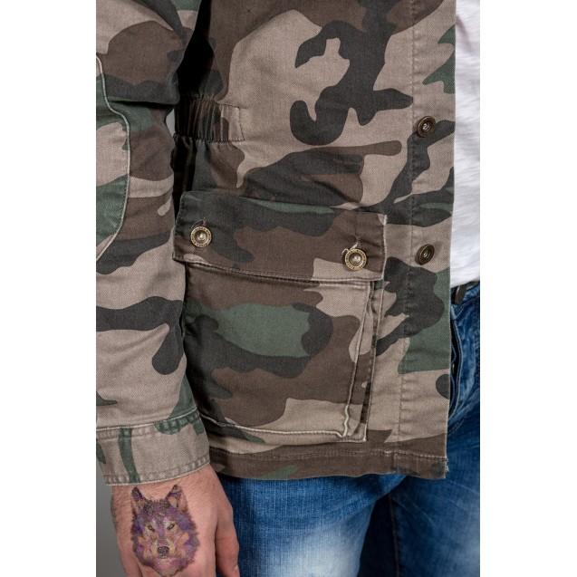 Geaca lunga military Kingz Jeans 1540