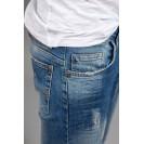 Blugi albastri Kingz Jeans 1591-04