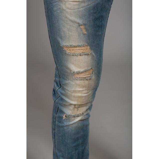 Blugi albastri Kingz Jeans 1601