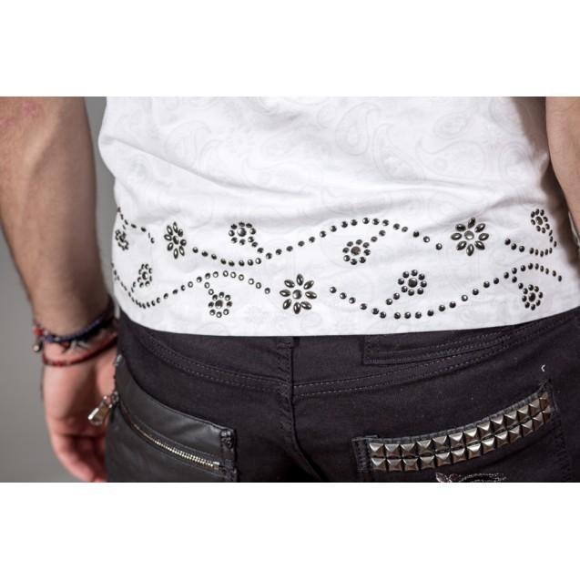Tricou alb Kingz Jeans 26-02