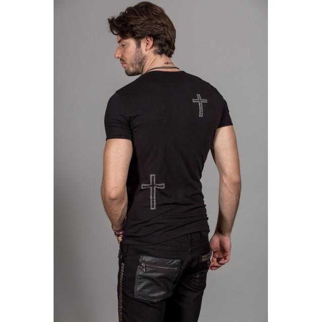 Tricou negru Kingz Jeans 28-13