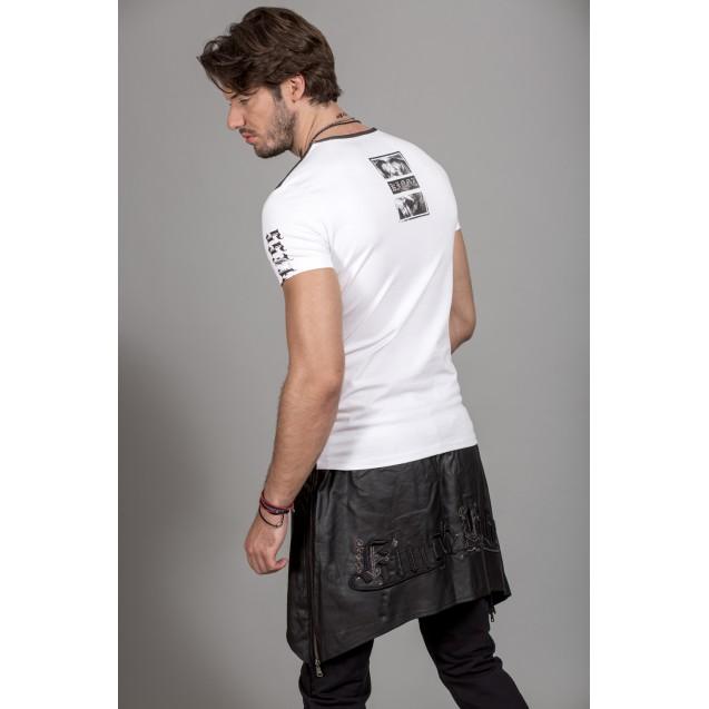 Tricou alb Kingz Jeans 30-14
