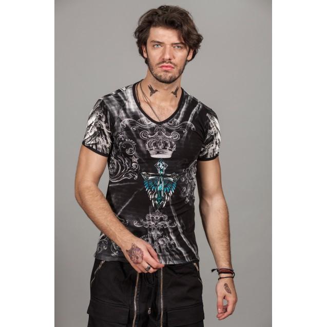 Tricou negru Kingz Jeans 30-23