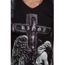 Tricou negru Kingz Jeans 32-09