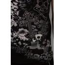 Tricou negru Kingz Jeans 32-13