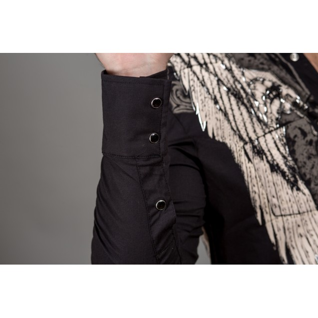 Camasa neagra Kingz Jeans 32-55