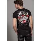 Tricou negru Kingz Jeans 36-02