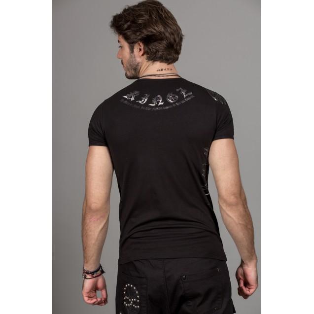 Tricou negru Kingz Jeans 36-05