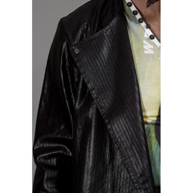 Jacheta neagra Kingz Jeans 55-1