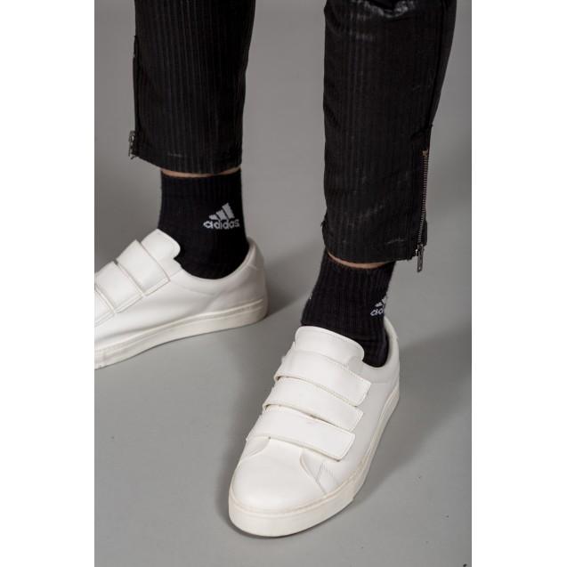 Pantaloni negri cu turul lasat Kingz Jeans 62-1